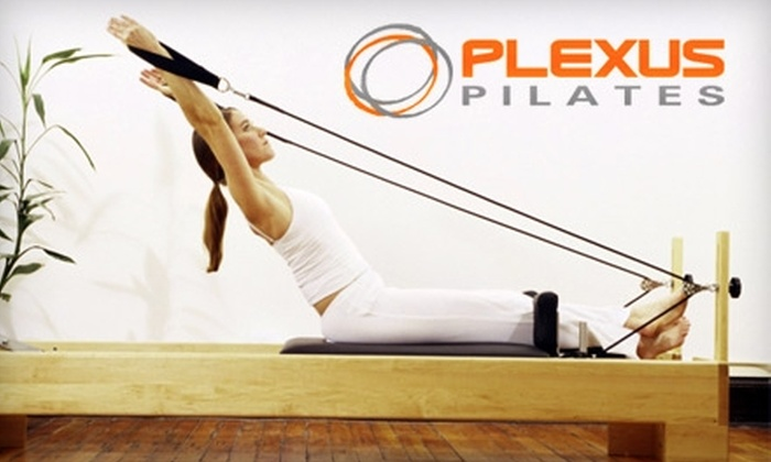 Plexus Pilates - Multiple Locations: $89 for 12-Pack of Reformer Classes at Plexus Pilates (Up to a $159 Value)