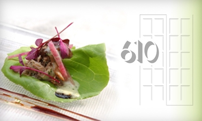 610 Magnolia Restaurant - Old Louisville: $55 for $110 Worth of New American Cuisine at 610 Magnolia Restaurant