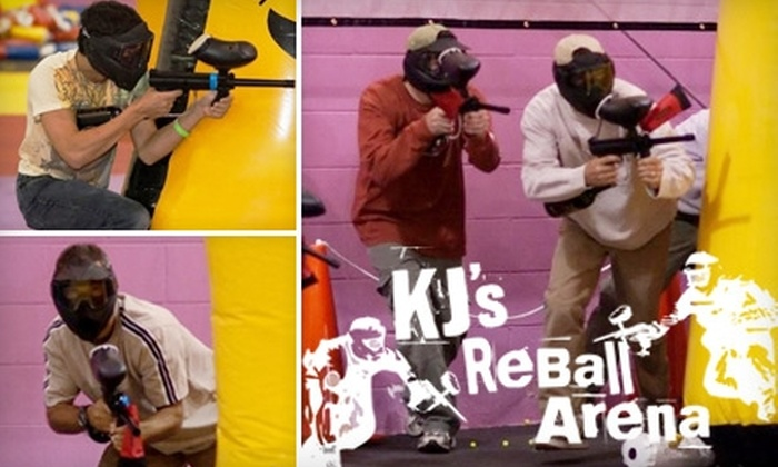 KJ's ReBall Arena - Greenbrier East: $20 for Two Hours of Play Plus Equipment, Unlimited Air, and ReBalls for Two People at KJ's ReBall Arena ($46 Value)