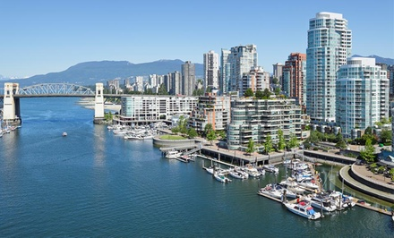 1-Night Stay for Two Adults and up to Two Kids in a 1-Bedroom King/Queen Suite Valid only in November - Hotel Le Soleil in Vancouver