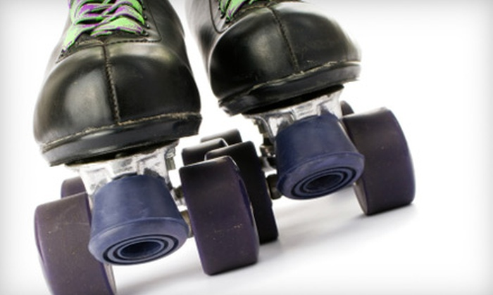 H.O.M.E. Roller Rink - Holland: $12 for Open-Skating Admission and Skate Rentals for Four at H.O.M.E. Roller Rink in Holland (Up to $28 Value)
