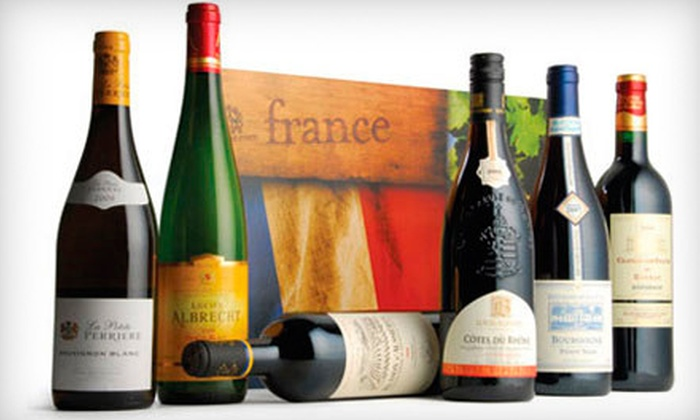 Wine.com: Wine and Wine Gifts from Wine.com (Half Off). Two Options Available.