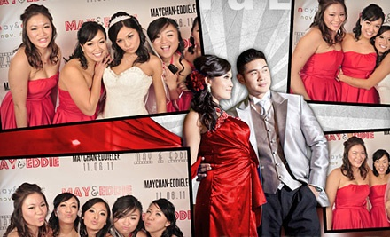 3-Hour Photo-Booth Rental (a $1,250 value) - Red Carpet Event Photo Booth in