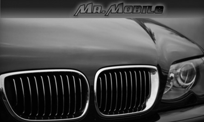 Mr. Mobile - Downtown: $85 for an On-Location Full-Car or SUV Detail with Wash from Mr. Mobile (Up to $220 Value)