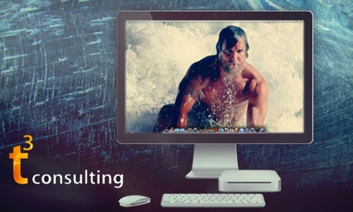 t3 Consulting - Mobile / Baldwin County: $25 for One-Hour Apple iOS Training Session at t3 Consulting ($50 Value)