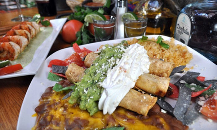 Pedro's Restaurant & Cantina - Downtown Los Gatos: Mexican Fare and Drinks for Up to Two or for Three or More at Pedro's Restaurant & Cantina in Los Gatos (Up to 52% Off)