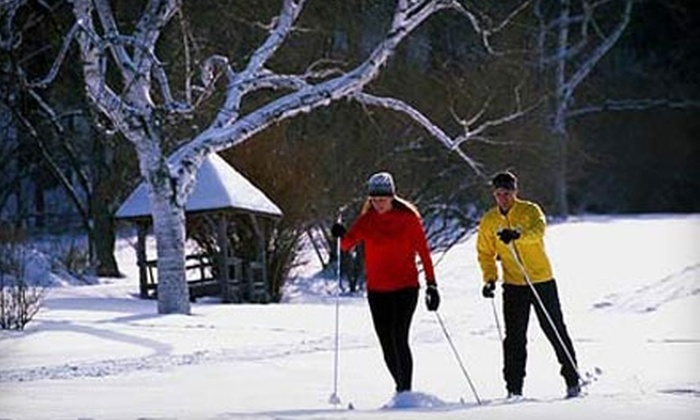 Maple Corner Farms - Granville: $10 for an All-Day Cross-Country-Skiing Pass and Rental at Maple Corner Farm (Up to $26 Value)