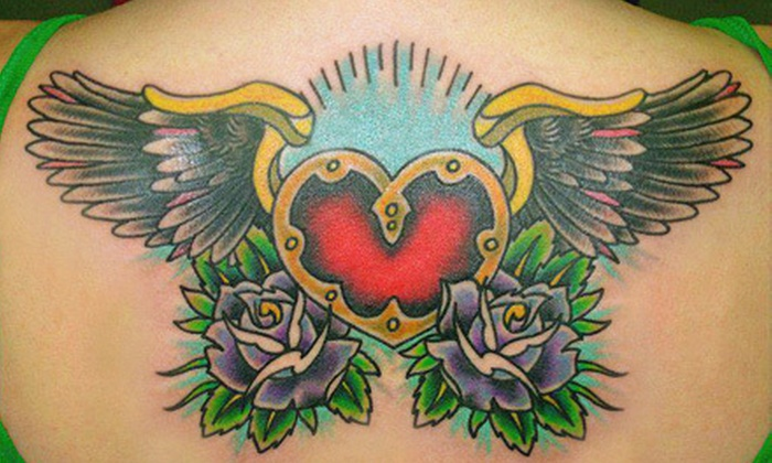 Shamrock Productions - Westover: $60 for $130 Worth of Customizable Tattooing at Shamrock Productions in Fayetteville