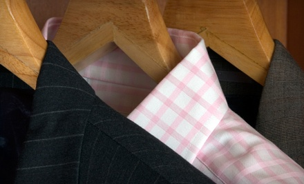 Dry Cleaning Punch Card for 10 Shirts (a $36 value) - The Cleanery  in Edmonton