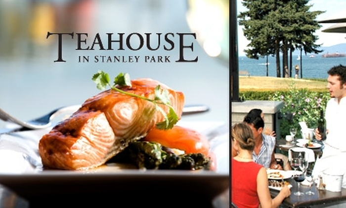 Teahouse - Vancouver: $12 for $25 Worth of Fresh Seasonal Fare at Teahouse