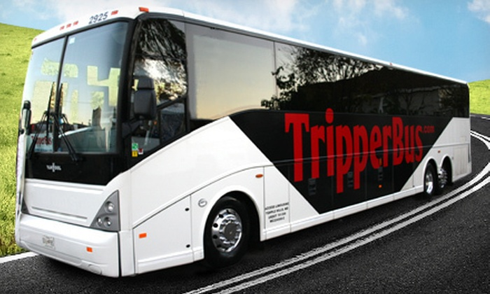 Tripper Bus - Multiple Locations: One-Way or Round-Trip Bus Travel Between DC Metro Area and New York City from Tripper Bus (Up to Half Off)