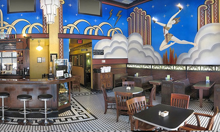 The Fountain on Locust - Midtown: $10 for $20 Worth of Ice Cream, Fresh-Made Diner Fare, and Drinks at The Fountain on Locust