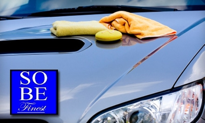 South Beach Finest - Bayshore: $9 for a Hand Car Wash at South Beach Finest Hand Car Wash in Miami Beach