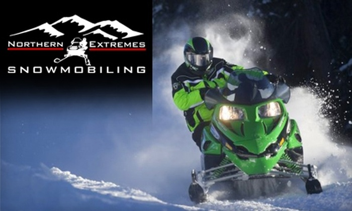 Northern Extremes Snowmobile Rentals - Bartlett: $60 for a Two-Hour Snowmobile Rental from Northern Extremes