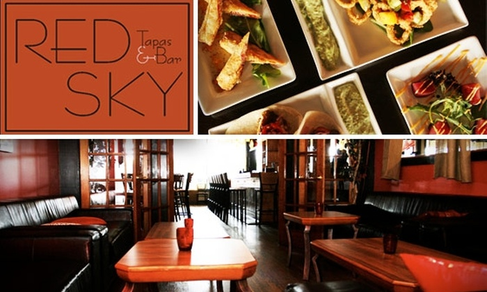 Red Sky Tapas & Bar - Marietta: $20 for $40 Worth of Food and Drink at Red Sky Tapas & Bar