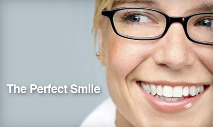 The Perfect Smile - Lewis Crest: $69 for an Exam, X-rays, Cleaning, and Custom Whitening Kit from The Perfect Smile ($403 Value)