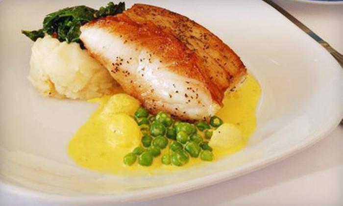 Brasserie Monte Carlo - Bethesda: French-Mediterranean Dinner or Lunch at Brasserie Monte Carlo in Bethesda