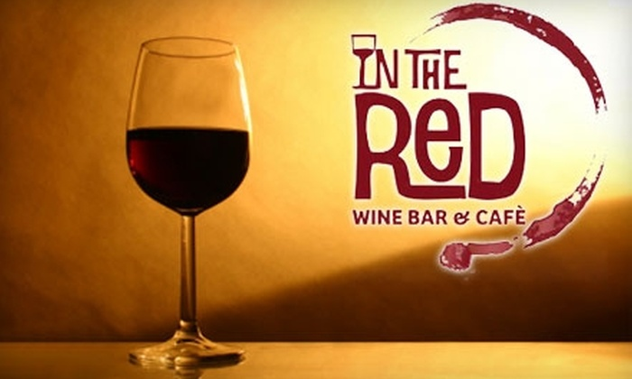 In The Red Wine Bar & Café - Phinney Ridge: $8 for $20 Worth of Coffee, Wine, and Small Bites at In The Red Wine Bar & Café