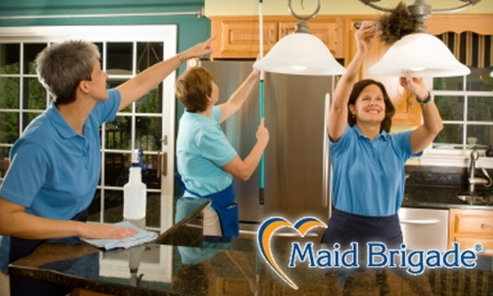 Maid Brigade - South Marshall: House-Cleaning Services from Maid Brigade. Four Options Available.