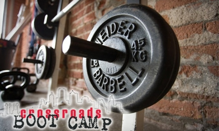 Crossroads BootCamp - Hospital Hill: $39 for 12 Boot Camp or CrossFit Sessions at Crossroads Bootcamp ($300 Value)