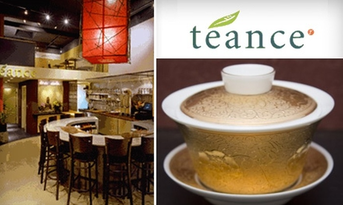Teance - Northwest Berkeley: $15 for a Tea Tasting for Two at Teance in Berkeley ($36 Value)