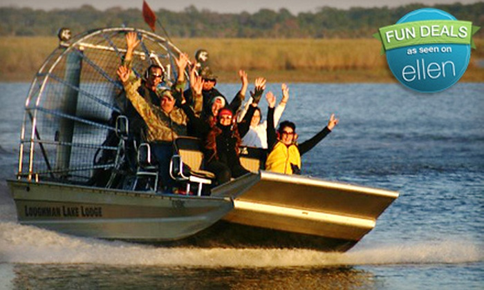 Loughman Lake Lodge - Mims: Airboat Tour for Two or Four from Loughman Lake Lodge (Up to 56% Off)