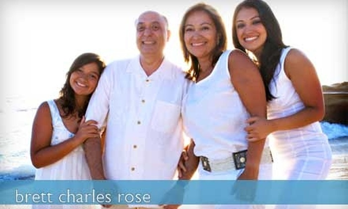 Brett Charles Rose Photography - Old Town: $69 for a Portrait Sitting Session, an 8x10 Enlargement, Two 5x7 Prints, and Eight Wallet-Sized Prints at Brett Charles Rose Photography