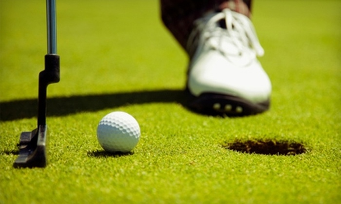 Chautauqua Point Golf Course - Dewittville: $28 for 18 Holes of Golf for Two Including Cart Rental at Chautauqua Point Golf Course in Dewittville ($60 Value)
