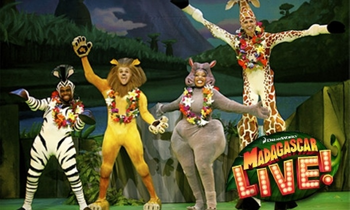 "Stranahan Theater - Southwyck: $21 For One Ticket to ""Madagascar Live!"" at the Stranahan Theater ($37 Value). Choose from Three Dates."
