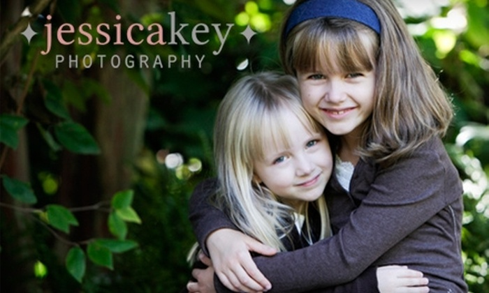 "Jessica Key Photography - Greenbrier: $75 for a One-hour Photo Shoot with Jessica Key Photography, Including a 12-Image DVD and One 8""x10"" Print"