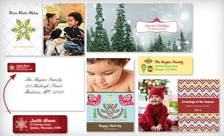 U.S. Customers - Holiday-Card Package with Set of 30 Custom Holiday Cards - Vistaprint.com in