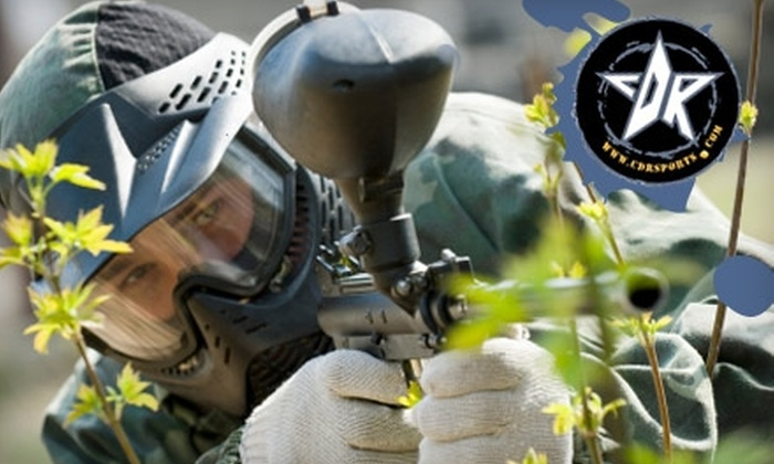 CDR Sports Paintball Park - North Whidbey: $18 for Paintball Day Pass Including Mask, Tank, Paintball Gun, and 200 Paintballs at CDR Sports Paintball Park in Oak Harbor (Up to $36 Value)