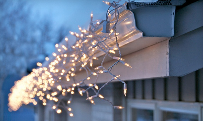 MyHandyHubby - Goose Island: Complete Christmas-Light Installation for a One- or Two-Story Home from MyHandyHubby (Up to 57% Off)
