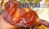 $7 for Pig Wings and More at Jake's Place BBQ