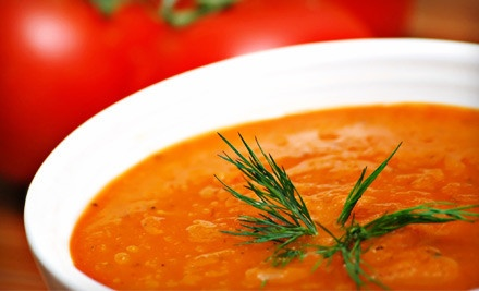 $20 Groupon - Spicy Green Gourmet Cafe & Catering in Durham