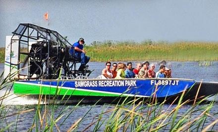 Sawgrass Recreation Park: 1 Hour