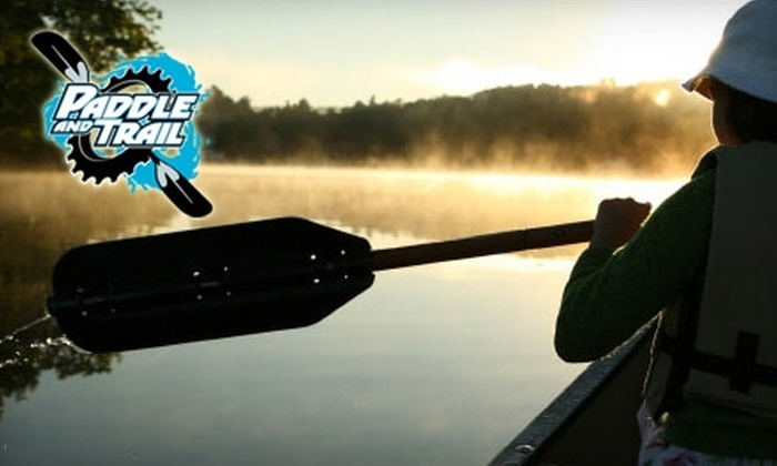 Paddle and Trail - Multiple Locations: $39 for a One-Year Membership to the Adventure Club ($79 Value) or $15 for a Two-Hour Ski Lesson for Two at Paddle and Trail ($30 Value)