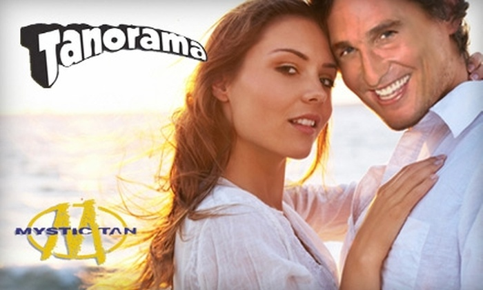 Tanorama  - Weymouth: $29 for Three Mystic Tan Stand-Up Spray-Tanning Sessions at Tanorama