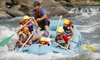 New & Gauley River Adventures (OH/DC/KY/WV) - Lansing: Rafting Adventure with Camping Sunday–Friday or Saturday from New & Gauley River Adventure in Lansing, WV (Up to 54% Off)