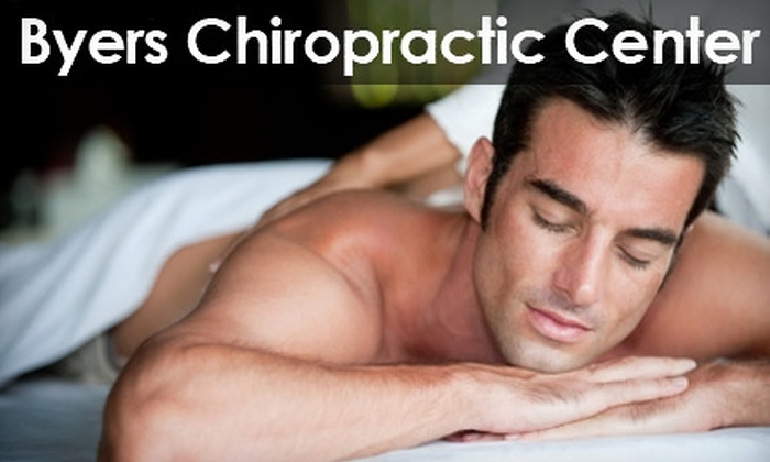 Byers Chiropractic Center - Wayne: $25 for a Consultation and 30-Minute Massage at Byers Chiropractic Center ($190 Value)