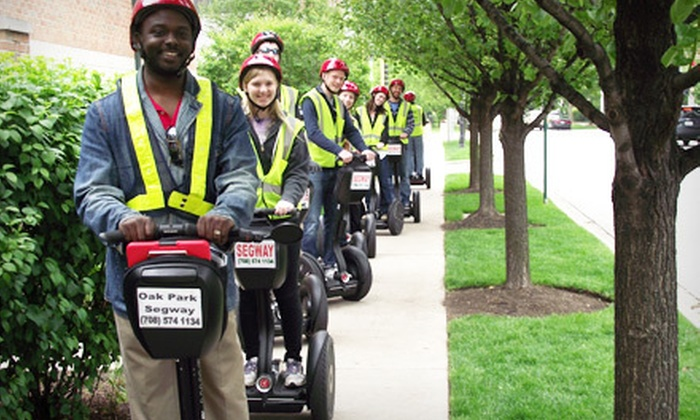 Oak Park Segway Experience - Oak Park: Daytime or Evening Segway Tour for Two or Four from Oak Park Segway Experience (Up to 53% Off)