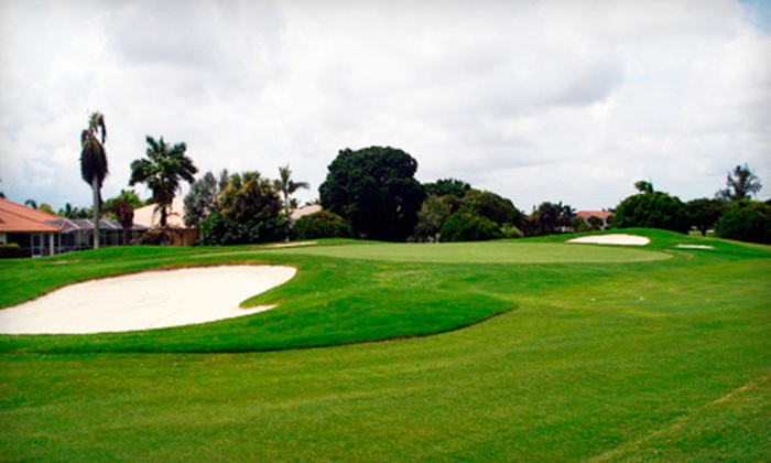 Cypress Creek Country Club - Cypress Creek: $35 for 18 Holes of Golf for Two and Discount Card at Cypress Creek Country Club in Boynton Beach (Up to $119.95 Value)