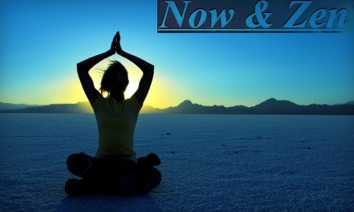 Now and Zen Yoga - Lodi: $30 for Five Yoga, Pilates, or Tai Chi Classes at Now and Zen Yoga
