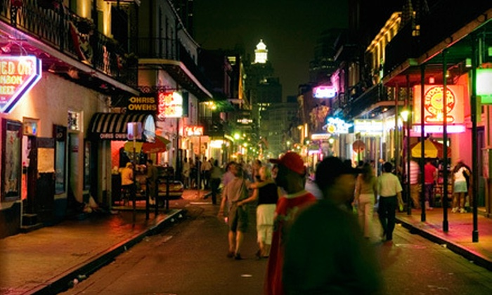 Southern Style Tours - French Quarter: Bourbon Street Walking Tour for One, Two, or Four from Southern Style Tours (Up to Half Off)