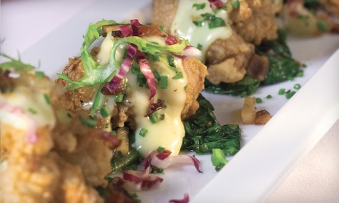 Silo Elevated Cuisine & Bar - Terrell Heights: $25 for $50 Worth of Elevated Cuisine at Silo in Alamo Heights. Includes $15 Gift Card to Nosh if Redeemed Sunday-Thursday