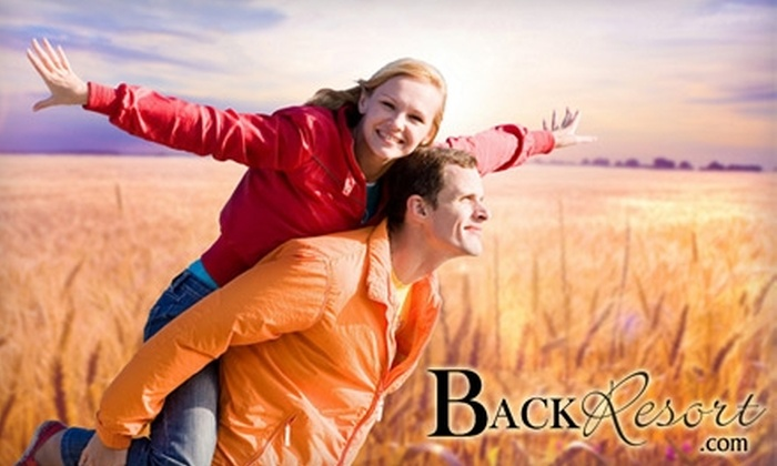 Back Resort - Salem: $29 for a Chiropractic Exam, X-ray, and First Treatment ($250 Value) or a 30-Minute Therapeutic Massage ($80 Value) at Back Resort in Salem