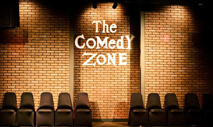 Comedy Zone - Southwood: Two Tickets to Comedy Show and Two Drinks or 2012 Membership to Comedy Zone (Up to 52% Off)