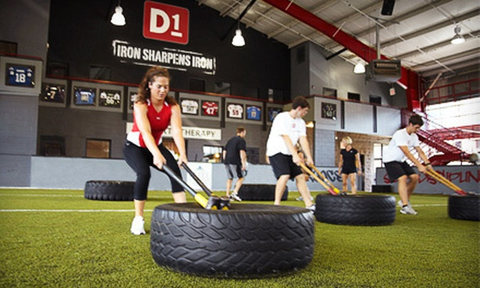 D1 Sports Training - Bloomfield Hills: One Month of Unlimited Small-Group Classes at D1 Sports Training in Bloomfield Hills ($240 Value)