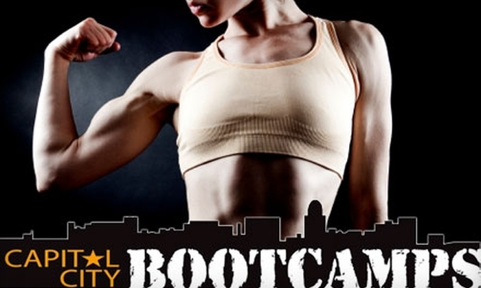 Capital City Fitness Boot Camps - Witherbee: $30 for One Month of Boot Camp Classes at Capital City Fitness Boot Camps (Up to $279 Value)