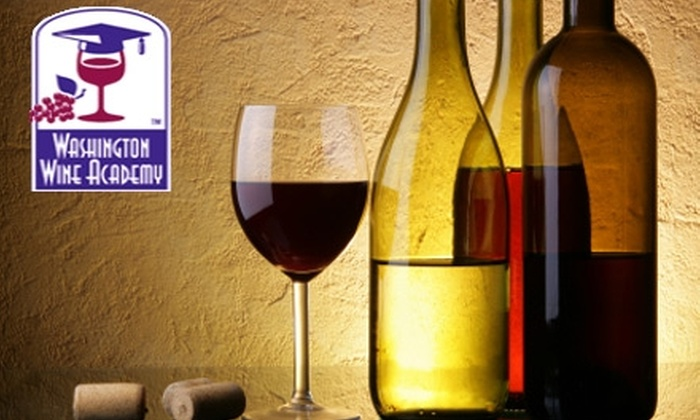 Washington Wine Academy - Arlington: $32 for a Wines of the World Class from Washington Wine Academy in Crystal City ($68 Value). Choose from Eight Class Options.